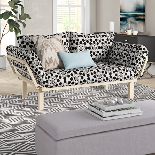 Everett Twin or Smaller Futon and Mattress by Ebern Designs Ebern Designs