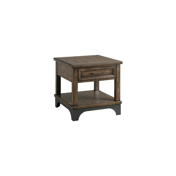 Potter End Table with Storage by Williston Forge