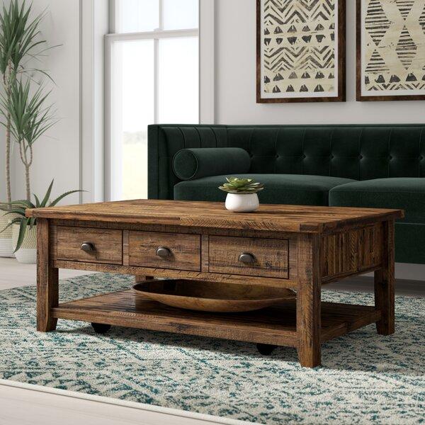 Jalynn Coffee Table with Storage by Mistana Mistana