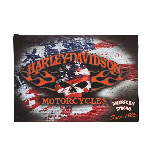 Harley-Davidson® 2-Sided Vertical Flag by Evergreen Enterprises, Inc