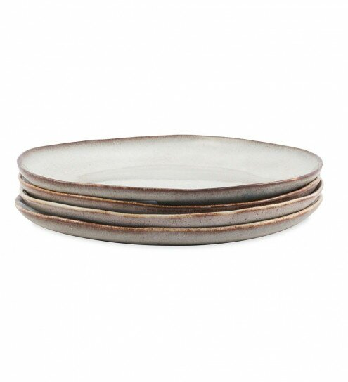 Tibbs 11.3 Dinner Plate (Set of 4) by Union Rustic