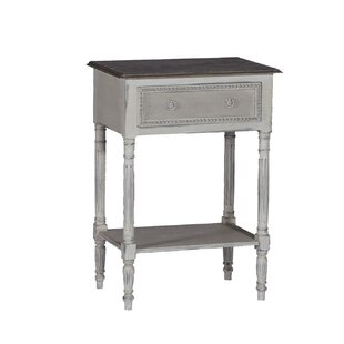 Carine End Table with Storage