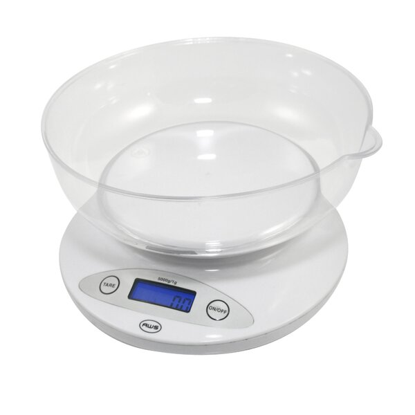Bowl Digital Kitchen Scale by American Weigh Scales