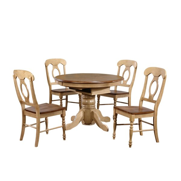Huerfano Valley  5 Piece Dining Set by Loon Peak