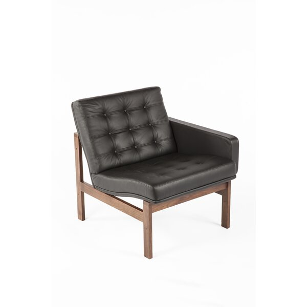 Ellen Leather Loveseat by Stilnovo