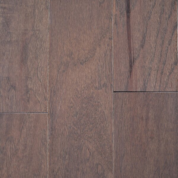 Riga 5 Engineered Hickory Hardwood Flooring in Gray by Branton Flooring Collection