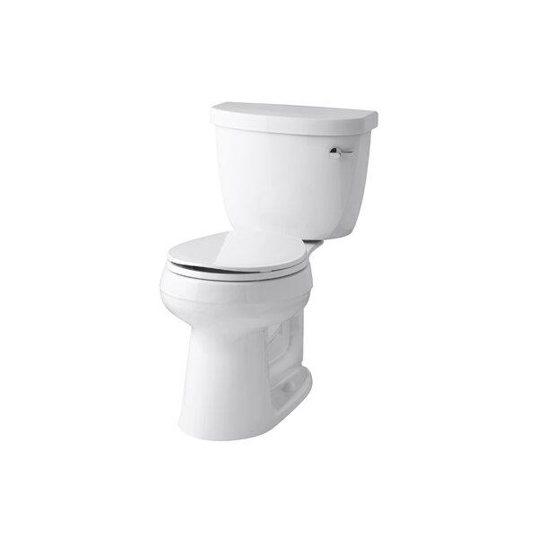 Cimarron Comfort Height 1.28 GPF Round Two-Piece Toilet by Kohler