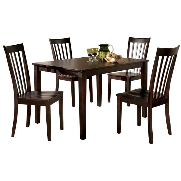 Marcy 5 Piece Dining Set by Canora Grey