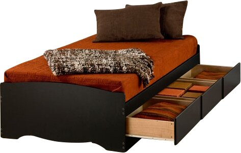 Norristown Extra Long Twin Platform Bed with Storage by Andover Mills