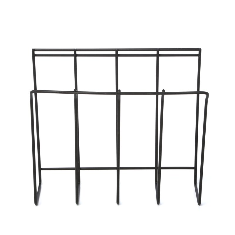 Rebrilliant Wall Mount Wire Magazine / Newspaper Caddy & Reviews ...