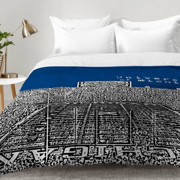 University Of Michigan Comforter Set