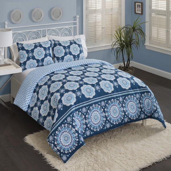 Jolly Reversible Comforter Set by Bungalow Rose