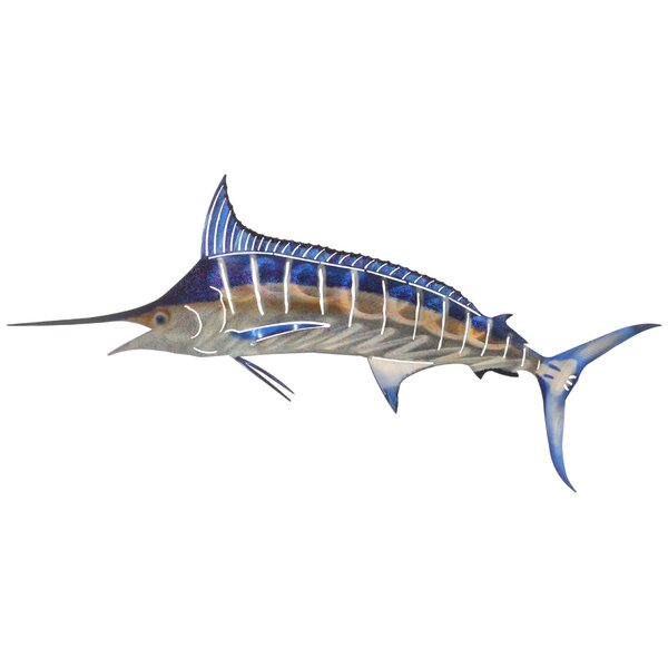 Marlin Metal Wall Décor by Bay Isle Home