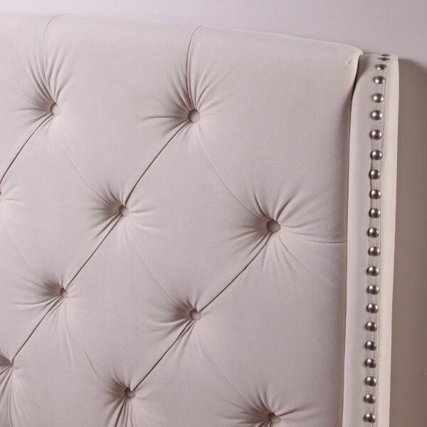 Chenery Upholstered Wingback Headboard and Tufted Bench by Darby Home Co