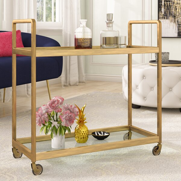 Canton Bar Cart by Everly Quinn