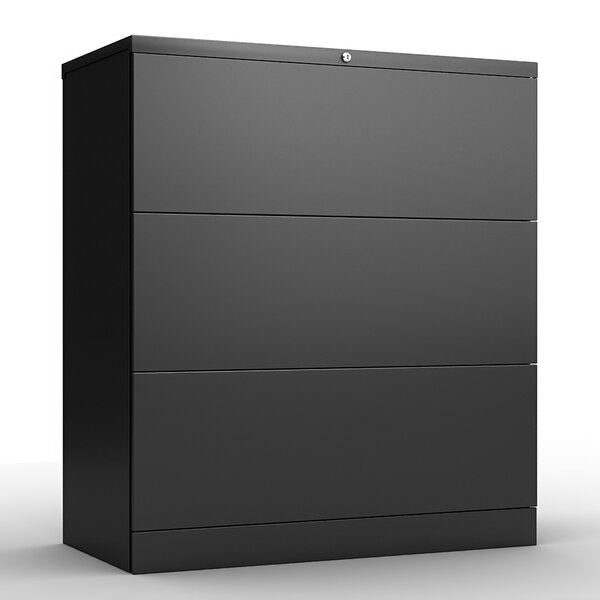 Anti-Tilt 3 Drawer Lateral Filing Cabinet