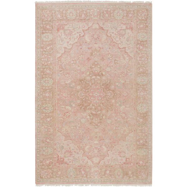 Palermo Hand-Knotted Beige Area Rug by One Allium Way