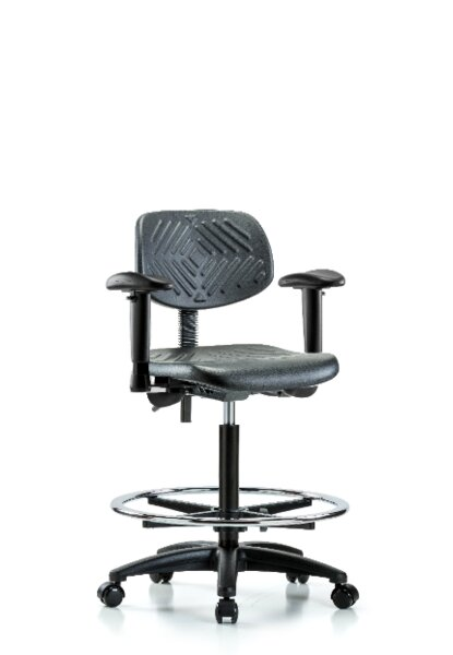 High Bench Ergonomic Office Chair by Blue Ridge Ergonomics
