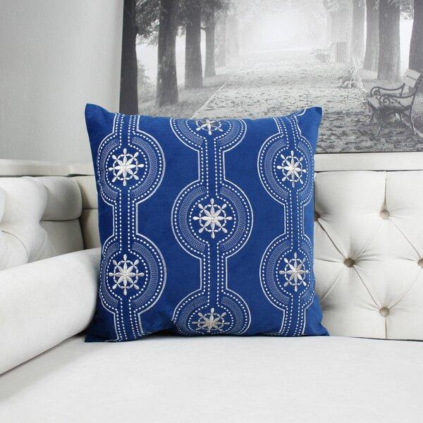 Finkbeiner Embroidery Indoor/Outdoor Throw Pillow by Bloomsbury Market