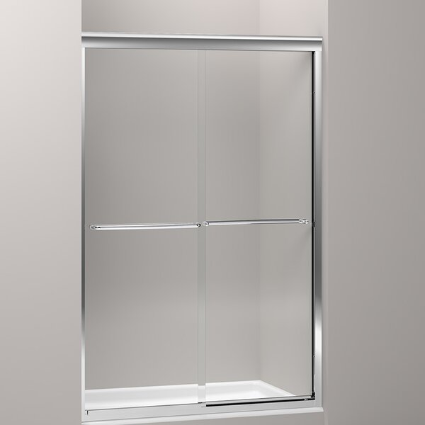 Fluence 43 x 70 Bypass Shower Door with CleanCoat® Technology by Kohler