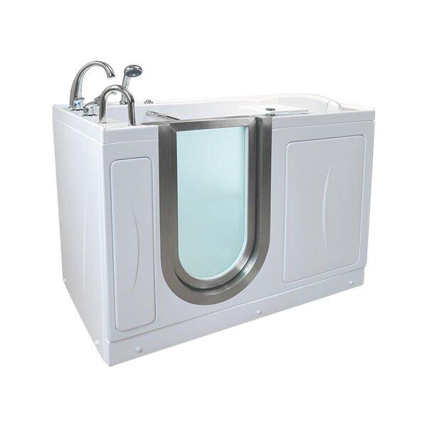 Royal 38 x 32 Walk-In Combination Bathtub by Ella Walk In Baths