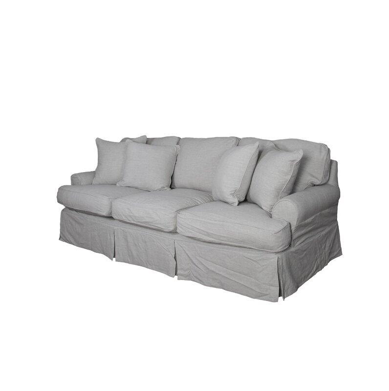 August Grove Callie T Cushion Sofa Slipcover Set & Reviews