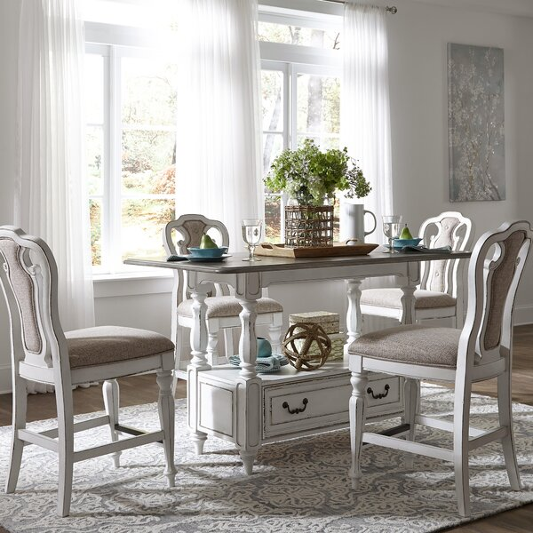 Tiphaine 5 Piece Dining Set By Lark Manor