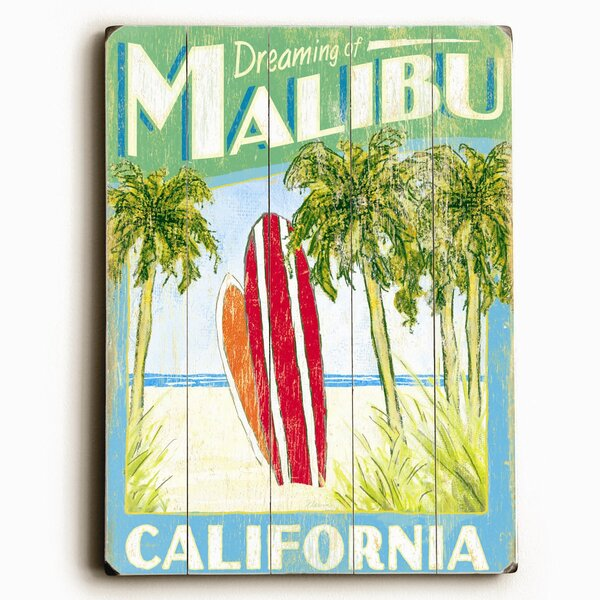 Surfboards Vintage Advertisement Plaque by Artehouse LLC