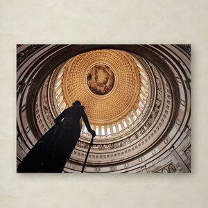 US Capitol Rotunda by Gregory O'Hanlon Photographic Print on Wrapped Canvas by Trademark Fine Art