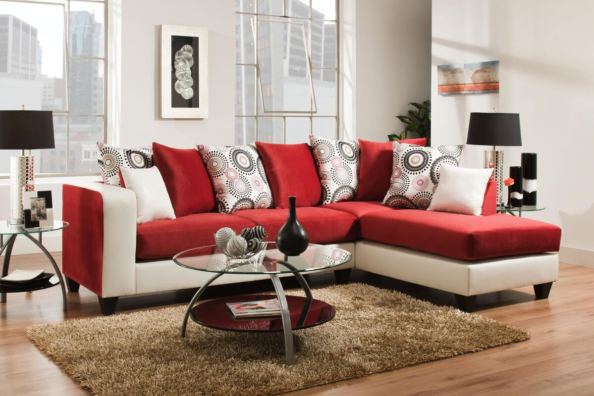 Save 42 Off Genoa Sectional By Ivy Bronx Shop For