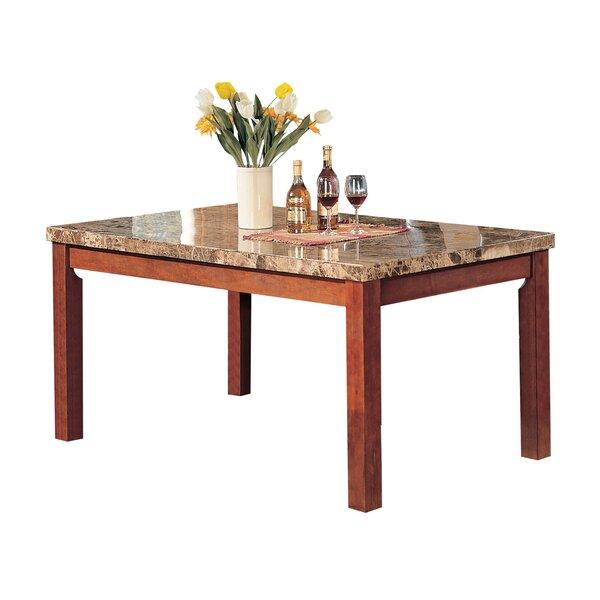 Mathieson Wooden Rectangular Dining Table by Winston Porter Winston Porter