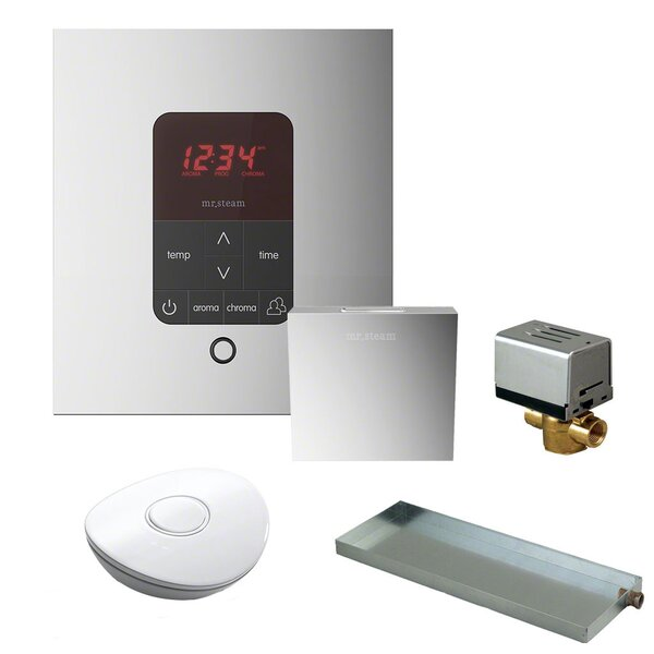 Residential Butler Accessories with Square Control by Mr. Steam