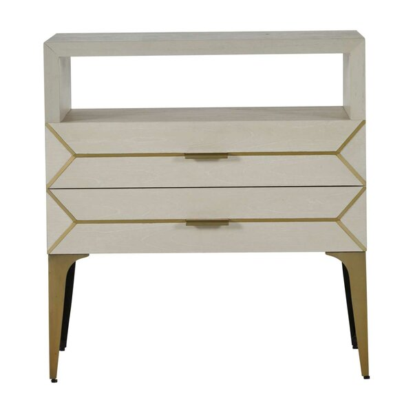 Whitley 2 Drawer Nightstand By Gabby