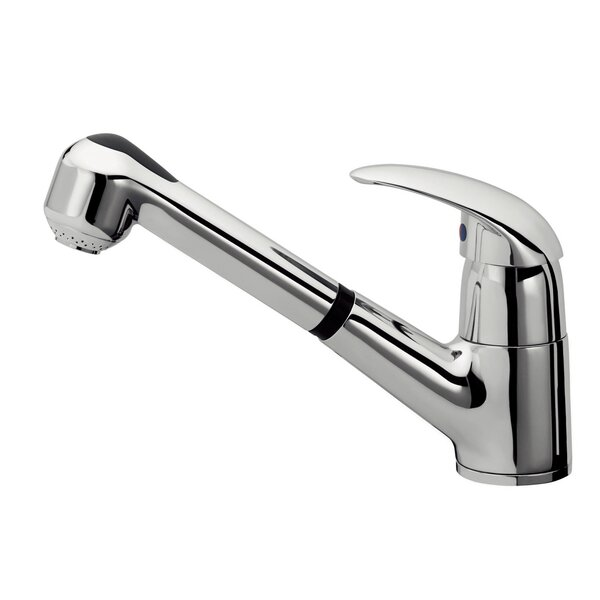 Single Handle Surface Mount Kitchen Faucet with Pull Out Handset by Andolini Home & Design Andolini Home & Design