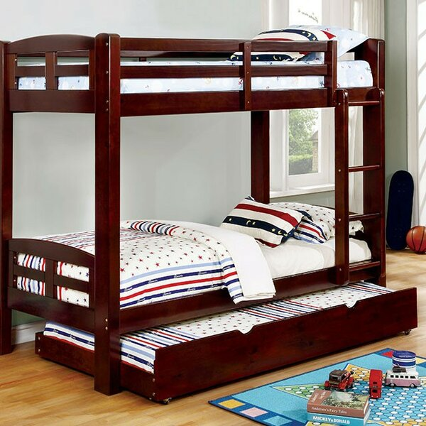 Gellert Twin over Twin Bunk Bed by Harriet Bee