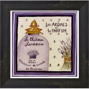 Lavande by Katharine Gracey Framed Vintage Advertisement by Evive Designs