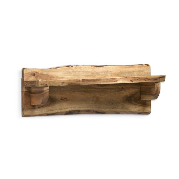 Bexton Natural Mantel Shelf by Foundry Select