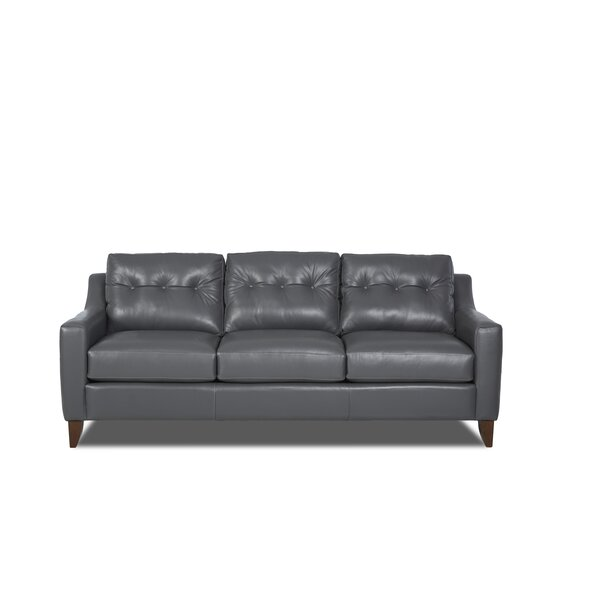 Modern Collection Karra Leather Sofa by Modern Rustic Interiors by Modern Rustic Interiors