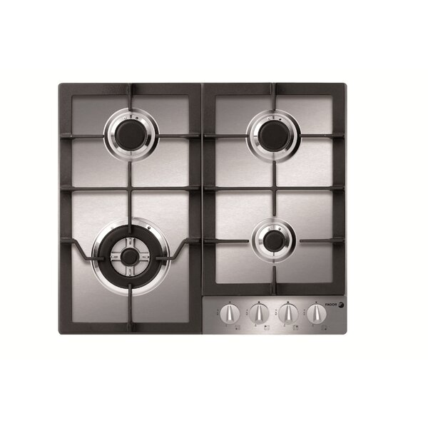 Metro Suite 23 Gas Cooktop with 4 Burners by Fagor