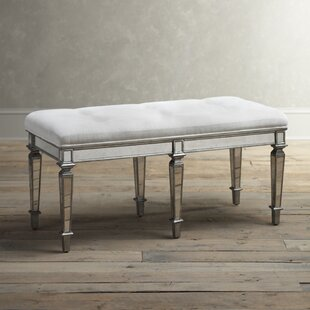 Compare prices Journee Upholstered Bench ByHouse of Hampton
