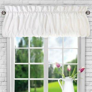 window valances caf kitchen curtains you 39 ll love wayfair. Black Bedroom Furniture Sets. Home Design Ideas