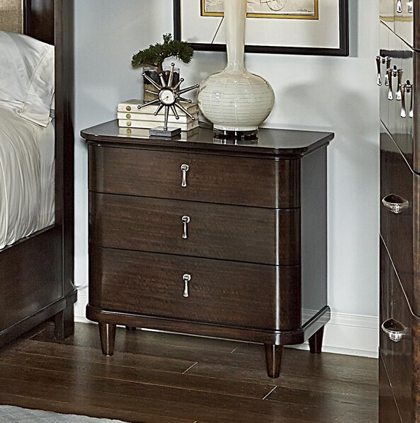 Cadence Cassia 3 Drawer Nightstand By Fine Furniture Design