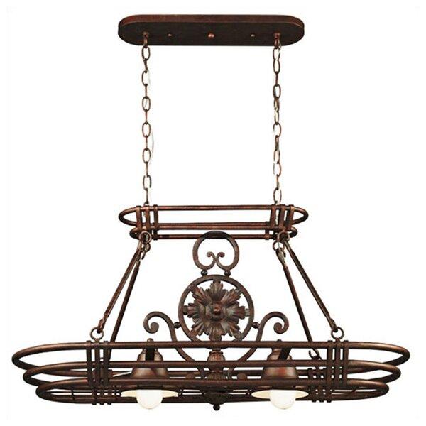 Dorada Lighted Hanging Pot Rack by Wildon Home ®