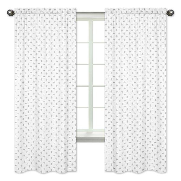 Woodsy Rod Pocket Window Curtain Panels (Set of 2) by Sweet Jojo Designs