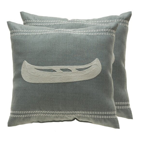 Theiss Outdoor Square Pillow Cover & Insert (Set of 2)