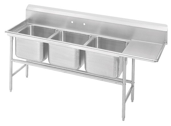 930 Series Free Standing Service Sink by Advance Tabco