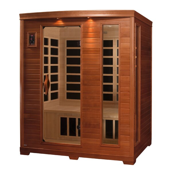 3 Person FAR Infrared Sauna by Dynamic Infrared