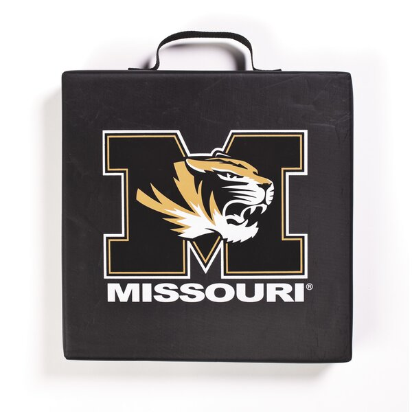 NCAA Missouri Tigers Indoor/Outdoor Stadium Cushion by BSI Products