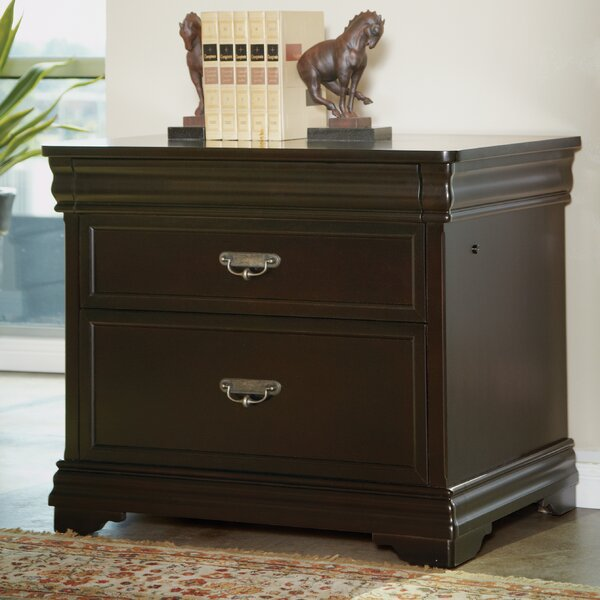 Lou 2-Drawer Lateral Filing Cabinet by Darby Home Co