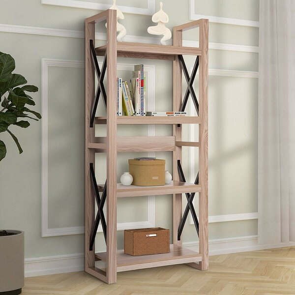 Whiddon Luxe Multipurpose Etagere Bookcase By Gracie Oaks